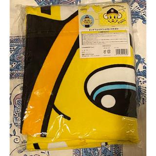 阪神タイガース ビッグフェイスフード付バスタオル