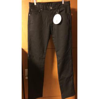 シマムラ(しまむら)のしまむら 裏地あったかパンツ ブラック/黒 メンズ 79cm 未使用品(その他)