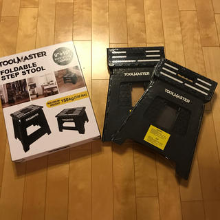 コストコ(コストコ)のTOOL MASTER 折り畳み踏み台 2個セット ステップツール 椅子 脚立(スツール)