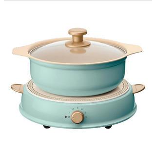 アイリスオーヤマ(アイリスオーヤマ)のricopa IHLP-R14 [アッシュブルー](調理機器)
