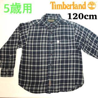 ティンバーランド(Timberland)の【120cm】ティンバーランド チェックのネルシャツ(ブラウス)