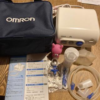 オムロン(OMRON)の【中古品】オムロン コンプレッサー式ネブライザー NE-C28 吸入器(その他)