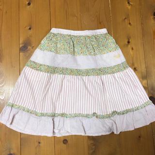 ハッカキッズ(hakka kids)のお値下げハッカキッズ 花柄スカート(スカート)