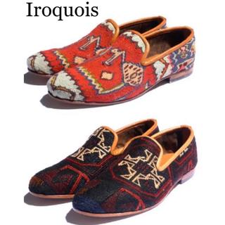 Iroquois - Iroquois キリムスリッポン 激レア希少!タグ箱有り!