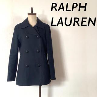 ラルフローレン(Ralph Lauren)のRALPH LAUREN コットン ジャケット ピーコート ネイビー(ピーコート)
