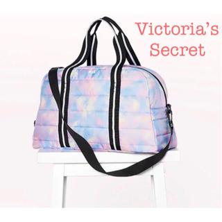 ヴィクトリアズシークレット(Victoria's Secret)の【新品】 ヴィクトリアシークレット ダッフル バッグ ボストンバッグ キルト(ボストンバッグ)