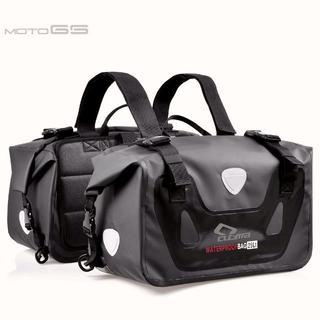 バイク50L大容量 ツーリングバッグサイドバッグ 上質防水リュックサック バッグ(モトクロス用品)