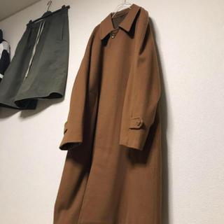 COMOLI - pure cashmere 100%Balmacaan coat カシミヤコート
