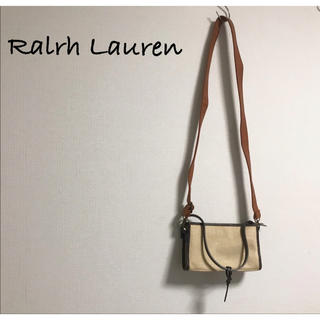 ラルフローレン(Ralph Lauren)の古着 Ralph Lauren ラルフローレン ハンドバッグ ショルダー ポーチ(ハンドバッグ)