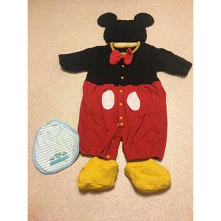 Disney - ミッキー ロンパース 50〜60