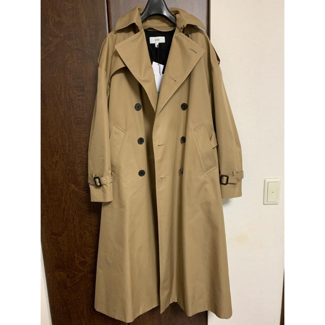 HYKE(ハイク)のHYKE bigトレンチコート レディースのジャケット/アウター(トレンチコート)の商品写真