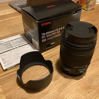 SIGMA - SIGMA 18-250 F3.5-6.3 DC MACRO OS