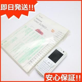 ソニー(SONY)の良品中古 SO902i ホワイト×ホワイト 白ロム(携帯電話本体)