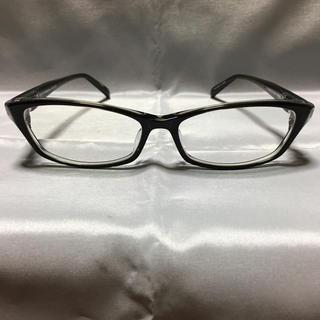 フォーナインズ(999.9)の美品 Plusmix プラスミックス PX-13288 伊達メガネ(サングラス/メガネ)