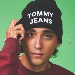 トミーヒルフィガー(TOMMY HILFIGER)のTOMMY HILFIGER TOMMY  JEANS ニット帽(ニット帽/ビーニー)