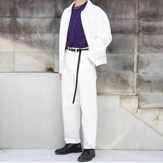 ジョンローレンスサリバン(JOHN LAWRENCE SULLIVAN)のsaby 20ss セットアップ デニム 白 ジャケット パンツ(セットアップ)
