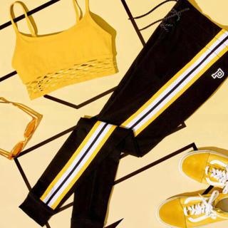 ヴィクトリアズシークレット(Victoria's Secret)のPINK High Waist Campus Legging 黄色(レギンス/スパッツ)