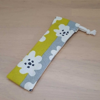 No.110 キッズカトラリーケース 箸袋(外出用品)