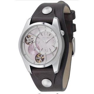 【FOSSIL】レディース レザー腕時計