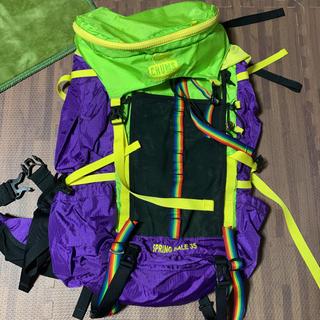 チャムス(CHUMS)のCHUMS リュック バックパック 登山 トレッキング(登山用品)