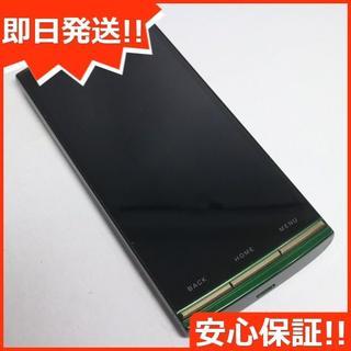 キョウセラ(京セラ)の美品 au URBANO L01 KYY21 グリーン 白ロム(スマートフォン本体)