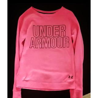 アンダーアーマー(UNDER ARMOUR)の新品UNDER ARMOUR girl'sビッグロゴスウェット❤︎.*(Tシャツ/カットソー)