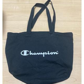チャンピオン(Champion)のチャンピオン トートバッグ ノベルティ 黒 美品(トートバッグ)