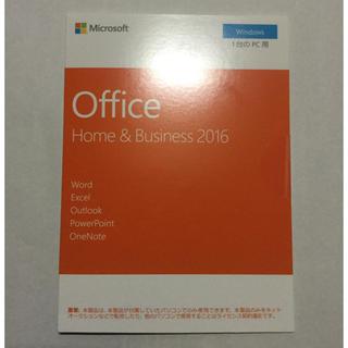 マイクロソフト(Microsoft)の★新品・未開封!正規品 office Home&Business 2016(PCパーツ)