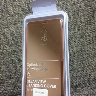 ギャラクシー(Galaxy)のGalaxy A7 半透明手帳型ケース、Galaxy A7用強化ガラス 液晶保護(Androidケース)