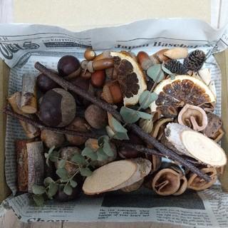 arrm@様ご専用 ネコポス【木の実】箱にいっぱいの詰め合わせ(ドライフラワー)
