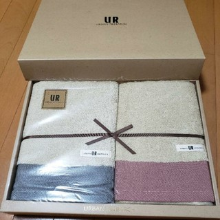 アーバンリサーチ(URBAN RESEARCH)のアーバンリサーチタオルセット バスタオル2枚 日本製(タオル/バス用品)