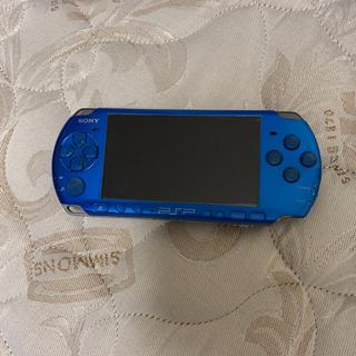 プレイステーションポータブル(PlayStation Portable)のPSP3000 ソフト付き(携帯用ゲームソフト)