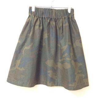 ノーブル(Noble)の迷彩柄スカート(ひざ丈スカート)