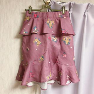 ミーア(MIIA)の新品未使用♡膝丈マーメイドスカート(ひざ丈スカート)