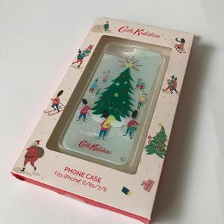 キャスキッドソン(Cath Kidston)の【新品】iPhone スマホケース クリスマス かわいい キャスキッドソン(iPhoneケース)