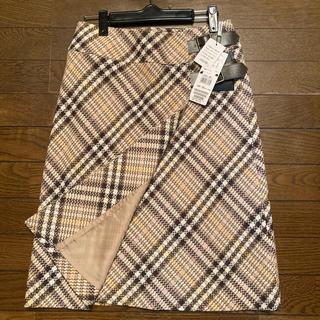 BURBERRY - Burberryバーバリー巻きスカート