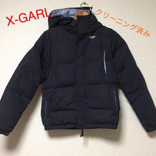エックスガール(X-girl)のXGARLダウンジャケット(ダウンジャケット)