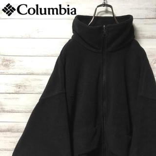 コロンビア(Columbia)の激レア 90s コロンビア フリース ビックシルエット アウトドア 刺繍ロゴ(その他)