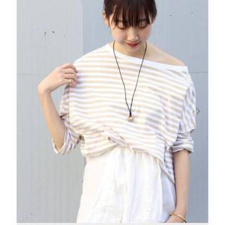 プラージュ(Plage)のボーダー Tシャツ(Tシャツ/カットソー(七分/長袖))