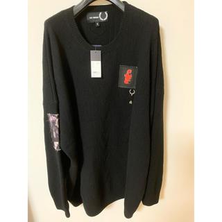 ラフシモンズ(RAF SIMONS)のraf simons fred perry セーター ニット Sサイズ 20aw(ニット/セーター)
