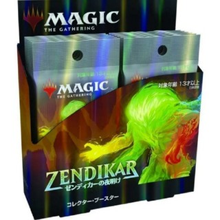 マジックザギャザリング(マジック:ザ・ギャザリング)のゼンディカーの夜明け 日本語版 コレクターブースター(Box/デッキ/パック)