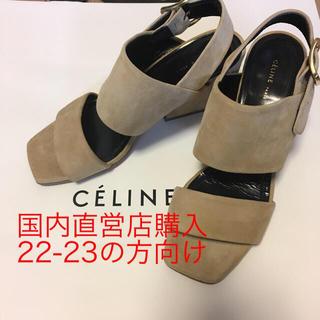 celine - セリーヌ  アイコニック サンダル フィービー celine