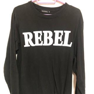 ルーカ(RVCA)のrebel ロンT/BLACK(Tシャツ/カットソー(七分/長袖))