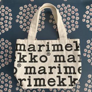 marimekko - マリメッコ ムック本 付録 マリロゴ トートバッグ