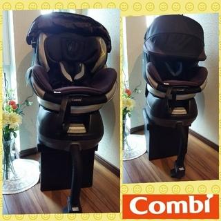 コンビ(combi)の40✨高級 コンビ ネルームNC-570✨コンパクト✨回転式チャイルドシート(自動車用チャイルドシート本体)