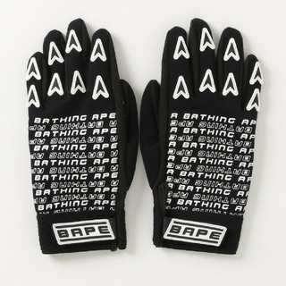 A BATHING APE - A BATHING APE MOTOR SPORT GLOVES
