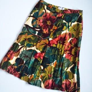 モスキーノ(MOSCHINO)のMOSCHINO ボックススカート(ひざ丈スカート)