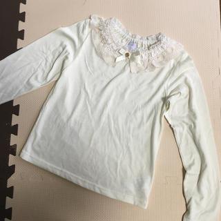 アクシーズファム(axes femme)の美品 axes femme kids 長袖シャツ 150 発表会などにも(Tシャツ/カットソー)