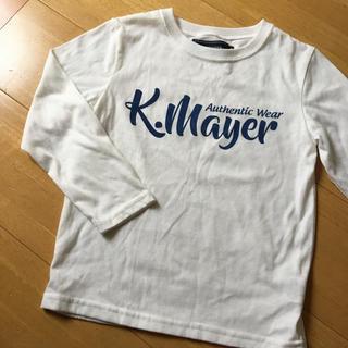 クリフメイヤー(KRIFF MAYER)のクリフメイヤー 白Tシャツ 120cm(Tシャツ/カットソー)