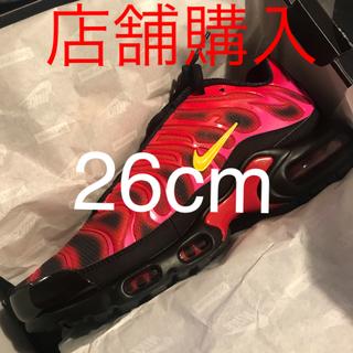 シュプリーム(Supreme)の26cm Supreme Nike Air Max Plus Black(スニーカー)